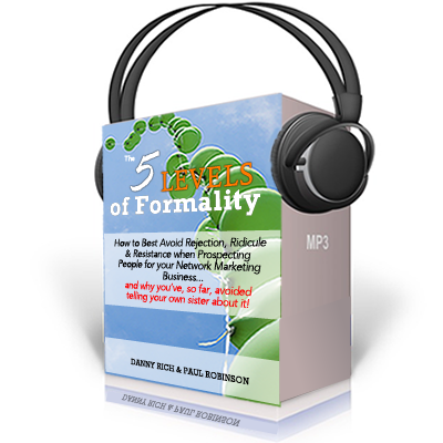 5 Levels of Formality audio Download
